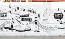 Some street art in Camden Town