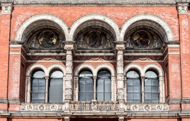View from the courtyard of the V&A Museum